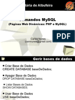 MySQL Comandos