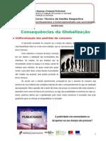 Sociologia UFCD4 consequências da globalização