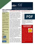 October 2013 Letter B Newsletter
