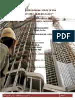 INFORME CONSTRUCCIONES II