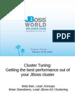 JBOSS 1-150pm ClusterTuning Bela Ban