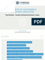 3 secrets of successful execution webinar.ppt
