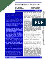 Embargoed Securities Industry October 2013 Report