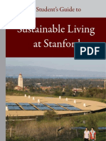 A Student's Guide to Sustainable Living at Stanford