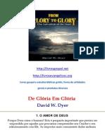 De Gloria Em Gloria