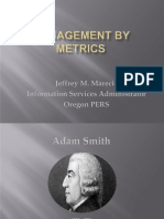 ORDGS13 Management by Metrics - Jeffrey M. Marecic