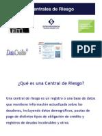 Clase 3B UPC Centrales de Riesgo SETIEMBRE 2013