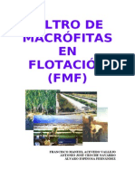 Filtro de Macrofitas Flotantes