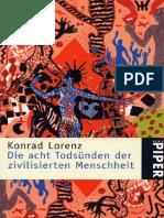 Die Acht Todsunden - Konrad Lorenz
