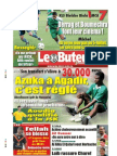 LE BUTEUR PDF du 30/07/2009