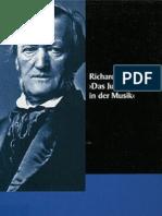 Wagner, Richard - Das Judentum in Der Musik