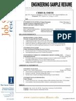 Engineering Sample Resume