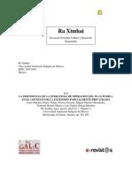 Sanchez Et Al 2011.La Pertinencia de La Estrategia de Operacion Del Plan Puebla Josset