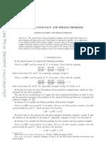 Isogonal Conjugancy and Fermat Problems