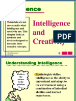 (Psychology) (English Pps) Intelligence and Creativity