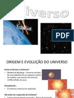 Constituição do Universo - alunos