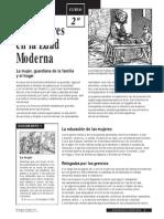 Las mujeres en la Edad Moderna