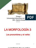 Morfología 3 (el verbo)