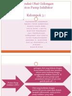 tugas IO obat proton pump inhibitor sesuai drug interaction facts
