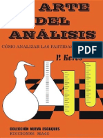 El Arte Del Analisis Como Analizar Las Partidas Aplazadas Paul Keres
