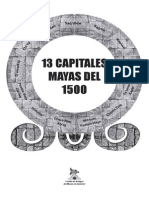 13 Capitales Mayas Del 1500 Ochoa Garca