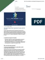 CETA Agreement Overview | Canada's Economic Action Plan