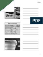 Beer Handout