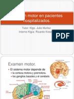 Examen Motor
