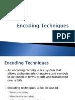 2.1 - Encoding Techniques (2)
