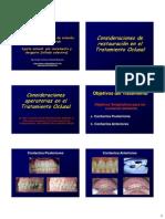 07 Reconstrucción del plano de oclusión, Ajuste oclusal (Dr. Alvarado)