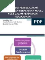 Model Pembelajaran Kolb