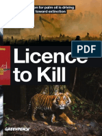 Licence To Kill - How deforestation for palm oil is driving Sumatran tigers towards extinction