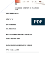 Metodo PERT David Prieto Pablo
