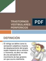 Tema 34 Trastornos Vestibulares Perifericos