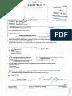 August 26 2013 DVRO Supplemental Declaration - Dr. Gregory Bowerman - Modesto