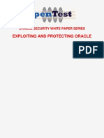 Exploiting and Protecting Oracle
