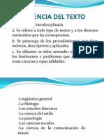 Ciencia Del Texto[1]