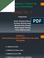 Instrumentación y Control de Procesos Industriales