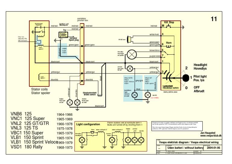 wiring diagram vespa super 150 wiring image wiring vespa wiring 1964 1973 on wiring diagram vespa super 150