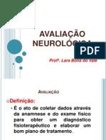 9 e 10-Avaliação Neurológica