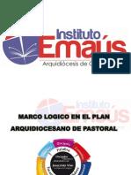 Plan de Pastoral y Marco Logico