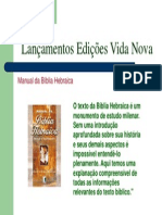 manual da bíblia hebraica