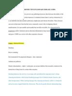Chronic Obstructive Pulmonary Disease(1)