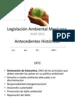 Legislacion Ambiental Mexicana