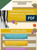 Trastornos Motores Del Esofago-completo