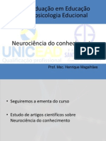 neurodinâmica da aprendizagem