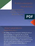 Fracturamiento Hidráulico!!
