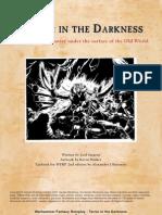 Black Industries Lost Files - Terror in the Darkness