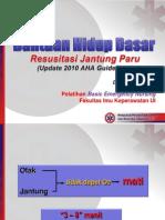 Bantuan Hidup Dasar (RJP) (Update AHA 2010)