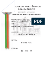 INFORME # 8 LEADWELL
